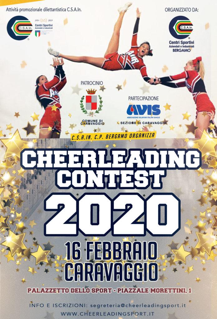 16 Febbraio – Cheerleading Contest a Caravaggio